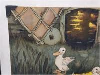 V.RARE Walt Disney Gustaf Tenggren Production Art