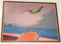 RARE Peter Pan (Disney 1953) Orig Production Cel