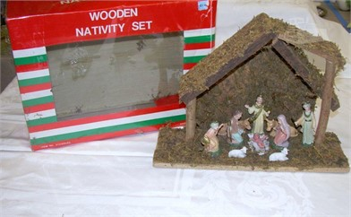 Vintage Nativity Set Other Items For Sale In Washington 1