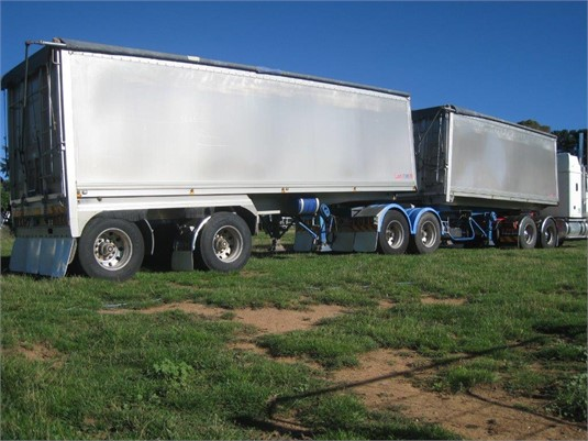 2004 Lusty Ems B Double Tippers - Trailers for Sale