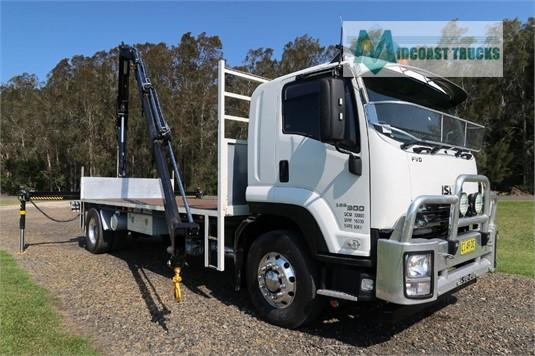2016 Isuzu FVD 165 300 Midcoast Trucks - Trucks for Sale