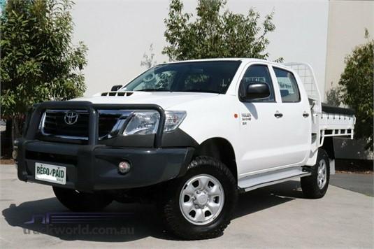 2012 Toyota Hilux Kun26r My12 Sr Double Cab - Light Commercial for Sale
