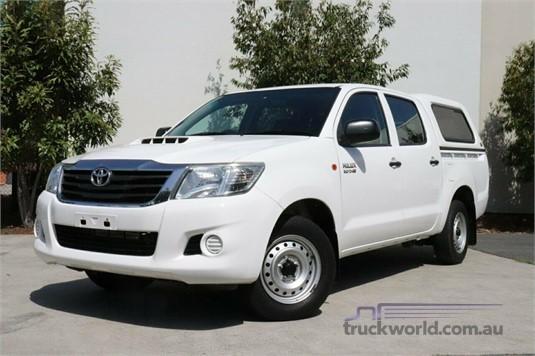 2014 Toyota Hilux Kun26r My14 Sr Double Cab - Light Commercial for Sale