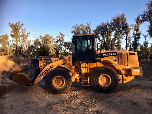 2009 Hyundai HL757-7 - Heavy Machinery for Sale