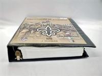 RARE NFL Saints Jo-Lonn Dubar's Defensive Playbook