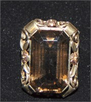 14 Kt Yellow Gold Ring.