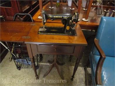SEWING SINGER MACHINE Vente 2 Autres 1941 En Articles AjR3q54L