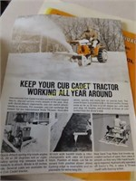 International Cub Cadet model 73 antique riding