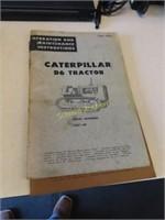 Catterpillar No. 6 Bulldozer manuals, Gleaner