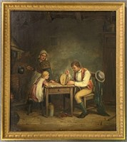"Septimus Dawson, O/C ""Oiling the Clock"""