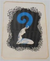 "Erte, ""Numbers"" Limited Edition Serigraph Suite"