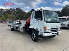 2007 Fuso Fighter 10 Crane Truck