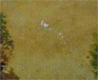 Oil on Canvas Landscape, Signed Nieman