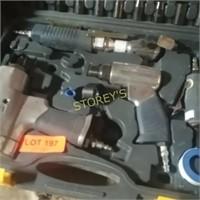 Mastercraft Air Tool Kit, Impact Gun, Chisel,
