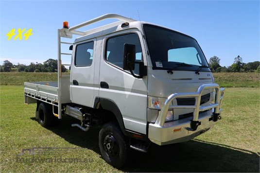 2013 Fuso Canter FG 4x4 Crew Cab  - Trucks for Sale