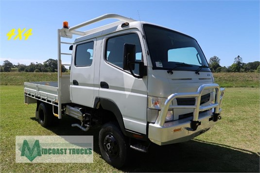 2013 Fuso Canter FG 4x4 Crew Cab Midcoast Trucks - Trucks for Sale