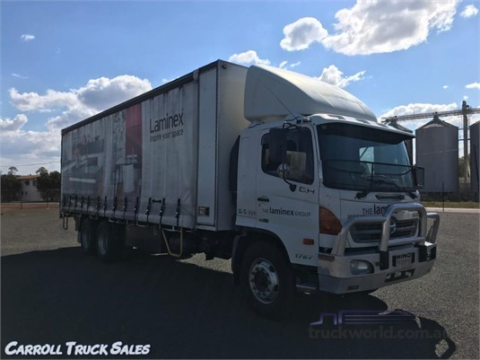 2008 Hino 500 Series 1727 XX Long Air Carroll Truck Sales Queensland  - Trucks for Sale