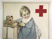 World War One Red Cross Poster