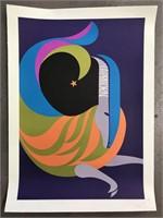 "1969 Simboli ""Capricorn"" Zodiac Poster"