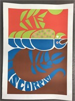 "1968 Simboli ""Scorpio"" Zodiac Poster"