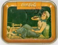 Lot of 3 Vintage Coca Cola Trays