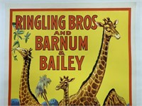 1944 Ringling Bros Barnum & Bailey Circus Poster