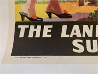 c.1955 Egypt - Land of Eternal Sunshine Poster