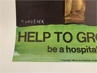 1969 Help to Grow Poster, Ungerer