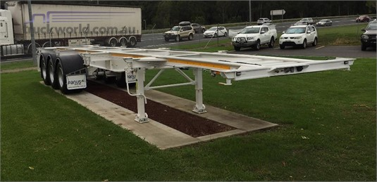 2019 Panus Skeletal Trailer - Trailers for Sale