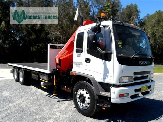 2005 Isuzu FVY 1400 Midcoast Trucks - Trucks for Sale