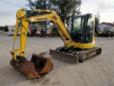 Pc45mr-5 small hydraulic excavator   komatsu america corp.