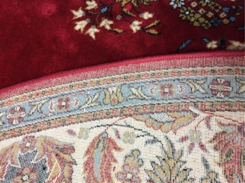 Moren Oriental Rug Turkish Wool Rusty