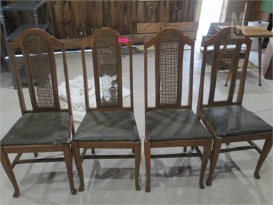 N Four Antique Chairs As Is Other Items For Sale 1