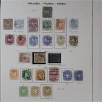 Prussia Used & Mint Hinged 1851-1867 CV $1800+