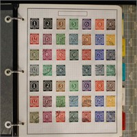 Germany Stamps in Binder Hundreds Used & Mint