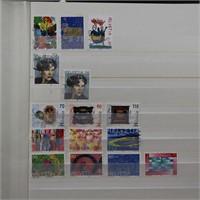 Switzerland, Germany Stamps in 2 Stockbooks