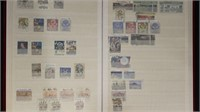 Australia Stamps 2 Stockbooks Hundreds Used & Mint