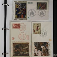 France & Monaco Stamps 95+ First Day Covers