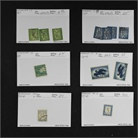 Netherlands Stamps Dealer Stock on Cards