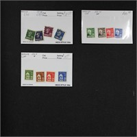 Norway Stamps Dealer Stock on Cards