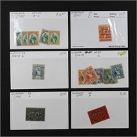 Guatemala Stamps Dealer Stock on Cards