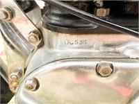"""1938 Ariel square four """"G"""" mint zero mile Concours"""