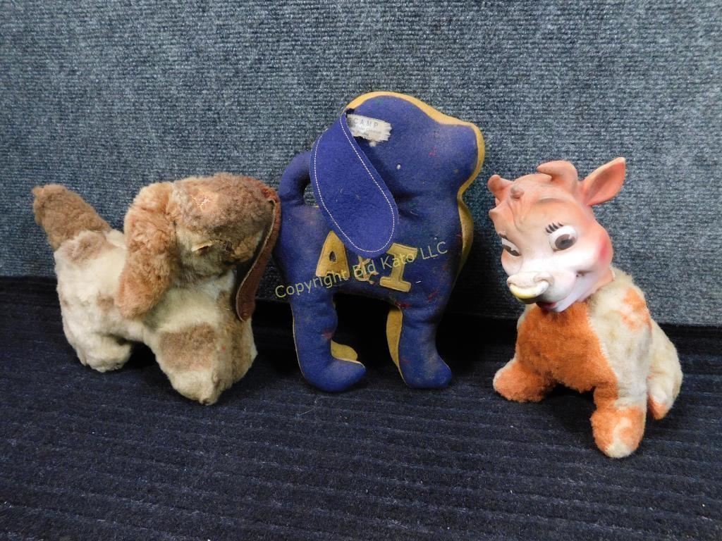 Antique Stuffed Animals Bid Kato