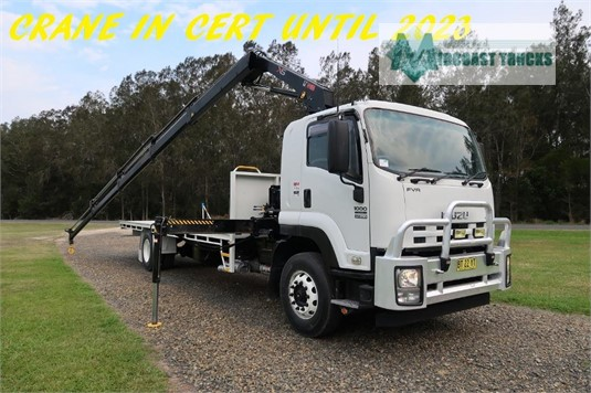 2012 Isuzu FVR1000 Midcoast Trucks - Trucks for Sale
