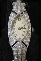 Platinum & Diamond Art Deco.