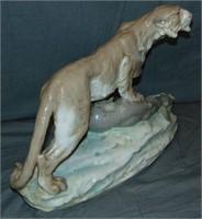 Czechoslovakia Porcelain, Mountain Lion