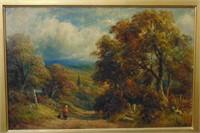 George Turner II, Oil on Panel, Landscape
