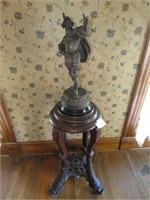 Victorian Statue and Base