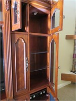 Signature Adjustable Entertainment Center with Bui