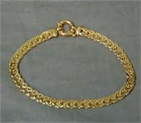 14 Kt gold Bracelet.